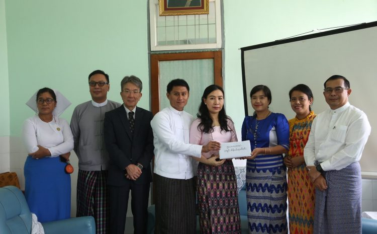 The Irrawaddy Foundation donated MMK (1000) lakhs to Waibargi Hospital and Yankin Children Hospital for COVID – 19 Prevention