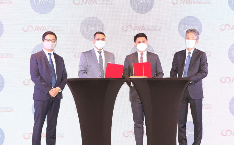 AYA SOMPO Insurance launches first-of-its-kind Comprehensive Travel Insurance in Myanmar for Domestic and International Travels in collaboration with Oway